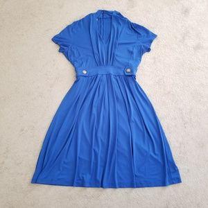 Donna Morgan Fit &Flare Midi Dress